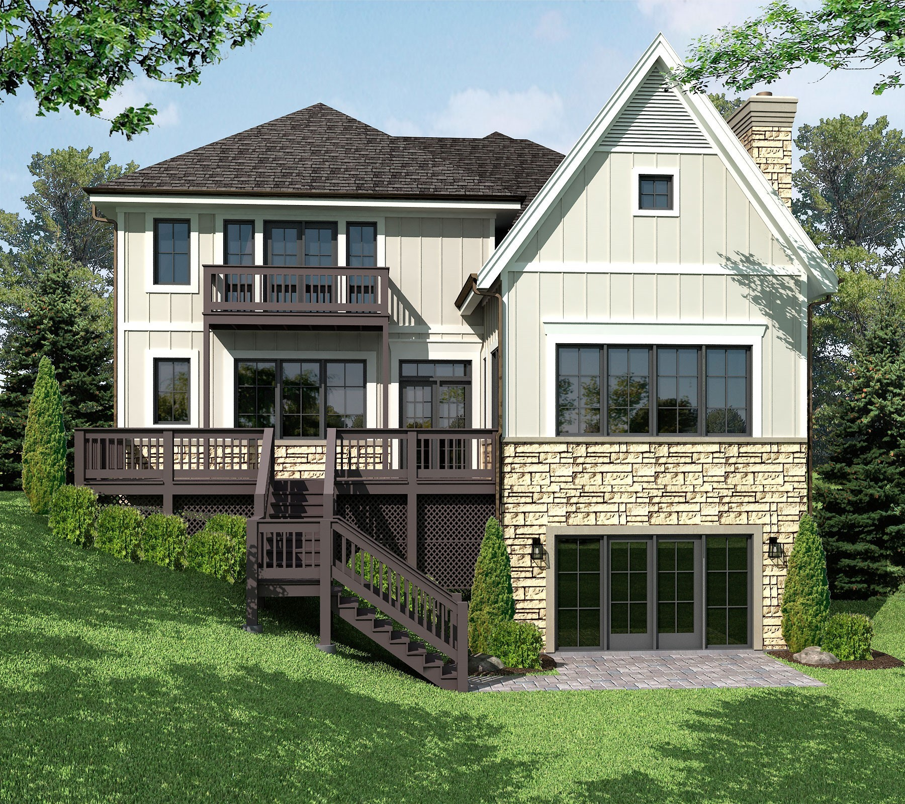 The Ravine Estate House: 840 Grove Street, Glencoe, Illinois